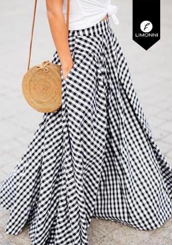 Faldas para mujer Limonni Claudette LI2749 Largos elegantes