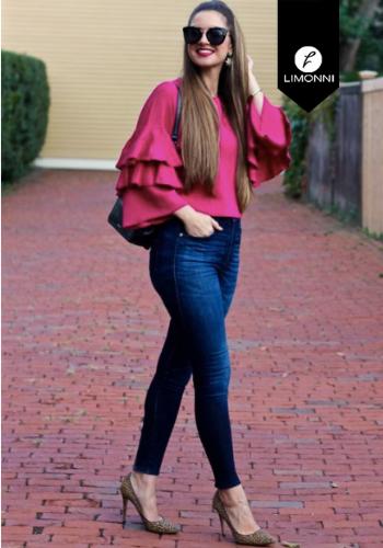 Blusas para mujer Limonni Claudette LI2751 Casuales