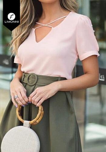 Blusas para mujer Limonni Claudette LI2754 Casuales