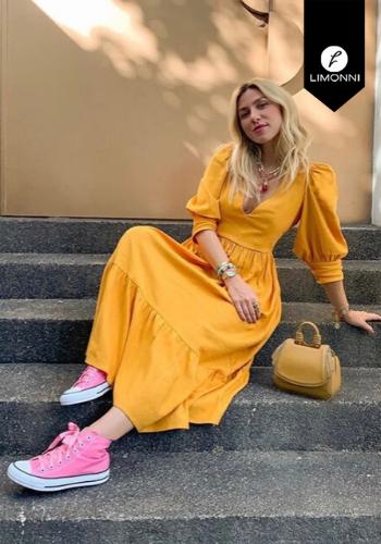Vestidos para mujer Limonni Claudette LI2757 Maxidress