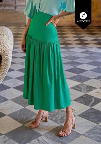 Faldas para mujer Limonni Visionary LI2775 Largos elegantes