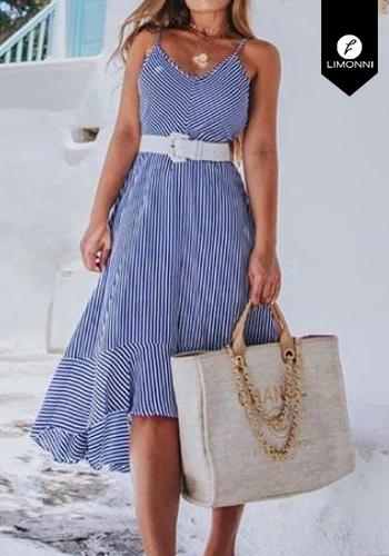Vestidos para mujer Limonni Visionary LI2796 Maxidress