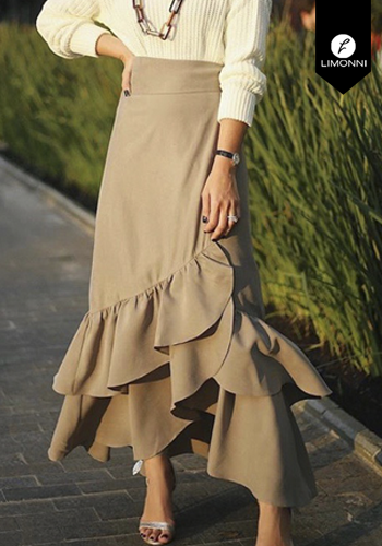 Faldas para mujer Limonni Visionary LI2806 Largos elegantes