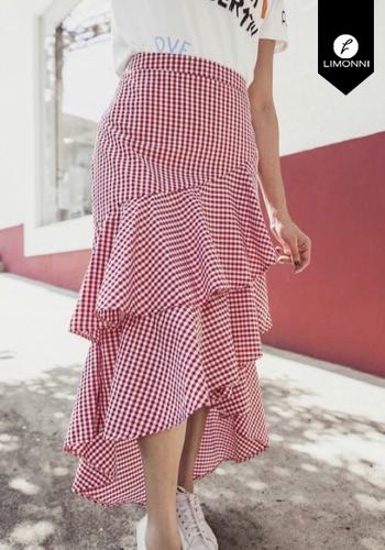 Faldas para mujer Limonni Visionary LI2828 Cortos Casuales