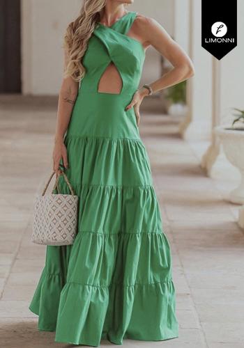 Vestidos para mujer Limonni Visionary LI2830 Maxidress
