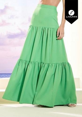 Faldas para mujer Limonni Visionary LI2835 Largos elegantes
