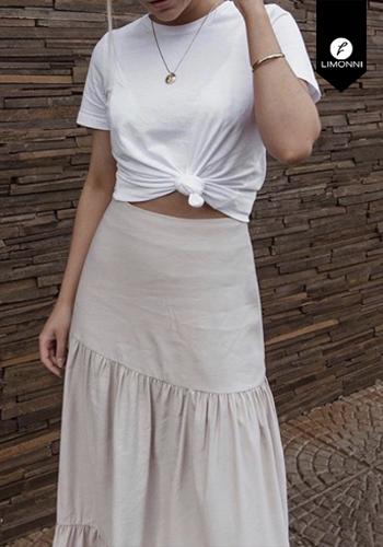 Faldas para mujer Limonni Visionary LI2839 Largos elegantes