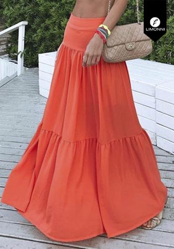 Faldas para mujer Limonni Visionary LI2863 Largos elegantes