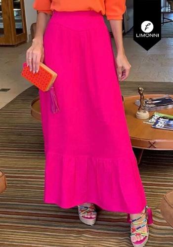 Faldas para mujer Limonni Visionary LI2879 Largos elegantes