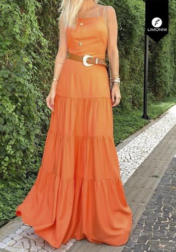 Vestidos para mujer Limonni Visionary LI2890 Maxidress