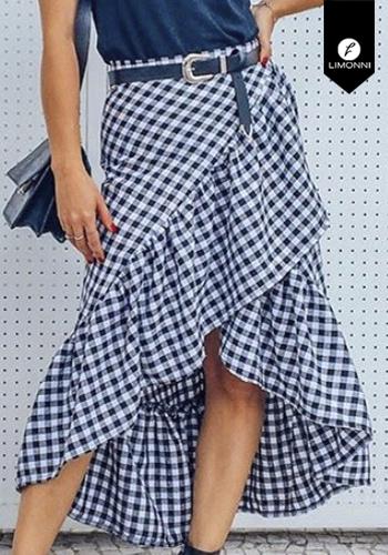 Faldas para mujer Limonni Visionary LI2894 Cortos Casuales