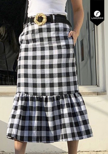 Faldas para mujer Limonni Visionary LI2903 Cortos Casuales