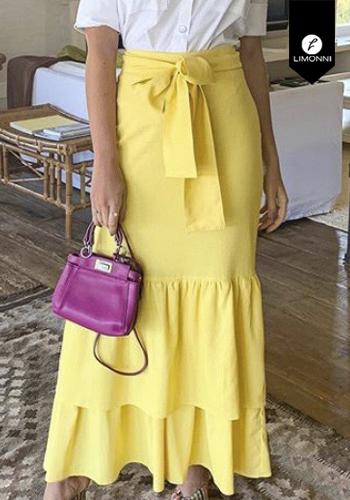 Faldas para mujer Limonni Visionary LI2912 Largos elegantes