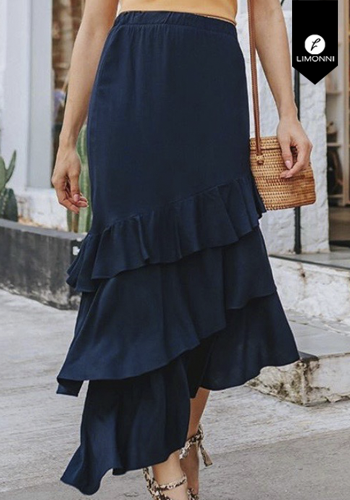Faldas para mujer Limonni Visionary LI2938 Largos elegantes