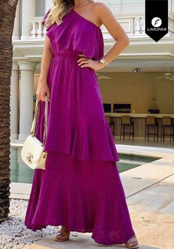 Vestidos para mujer Limonni Visionary LI2950 Maxidress