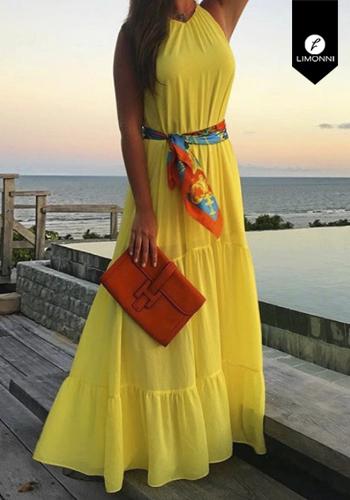 Vestidos para mujer Limonni Visionary LI2955 Maxidress