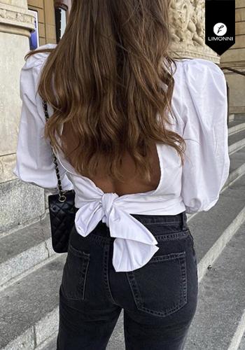 Blusas para mujer Limonni Visionary LI2970 Tops