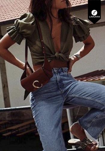Blusas para mujer Limonni Visionary LI3004 Tops