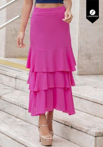 Faldas para mujer Limonni Visionary LI3020 Largos elegantes