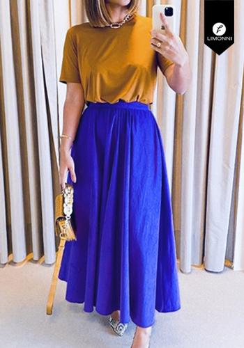 Faldas para mujer Limonni Visionary LI3021 Largos elegantes