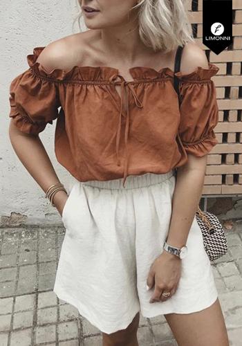 Blusas para mujer Limonni Visionary LI3026 Casuales