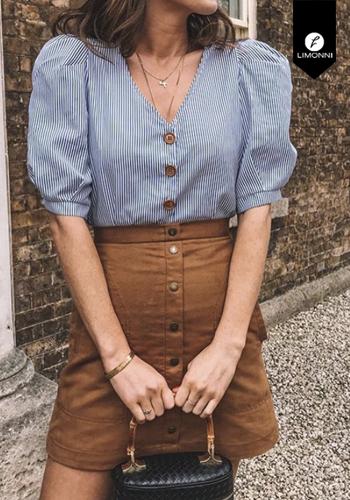 Blusas para mujer Limonni Visionary LI3041 Camiseras