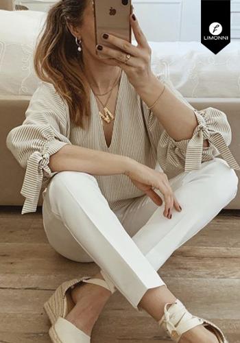 Blusas para mujer Limonni Visionary LI3057 Casuales