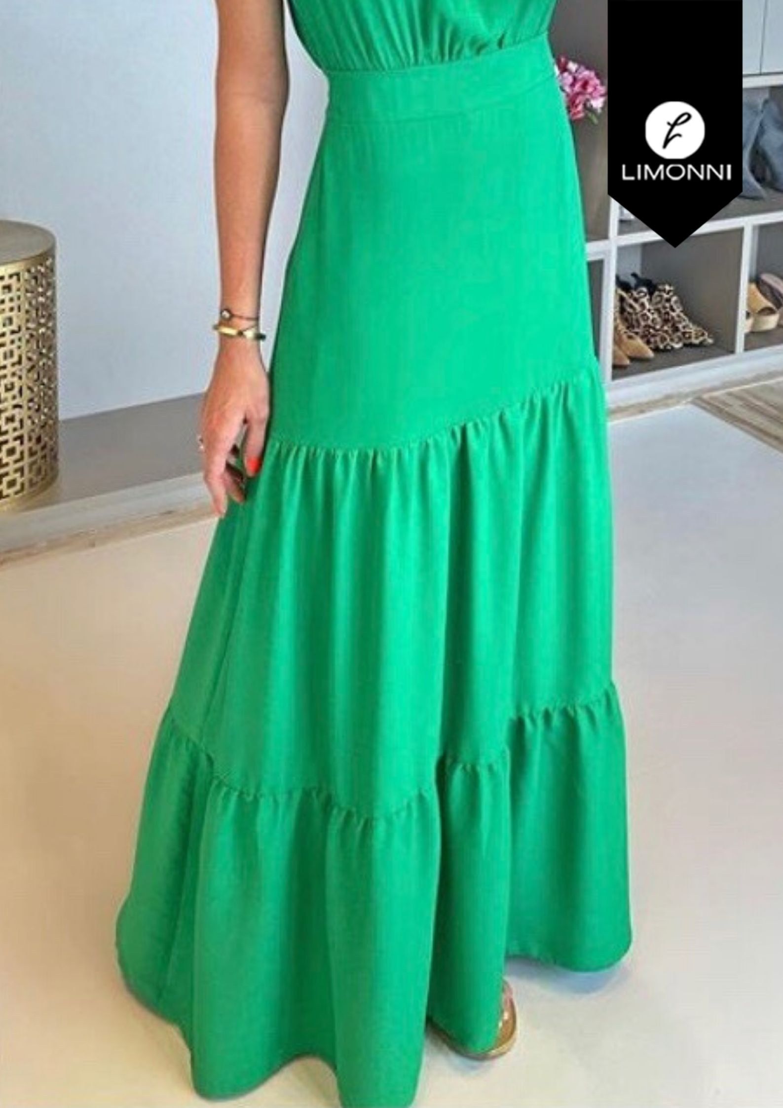 Faldas para mujer Limonni Visionary LI3071 Largos elegantes