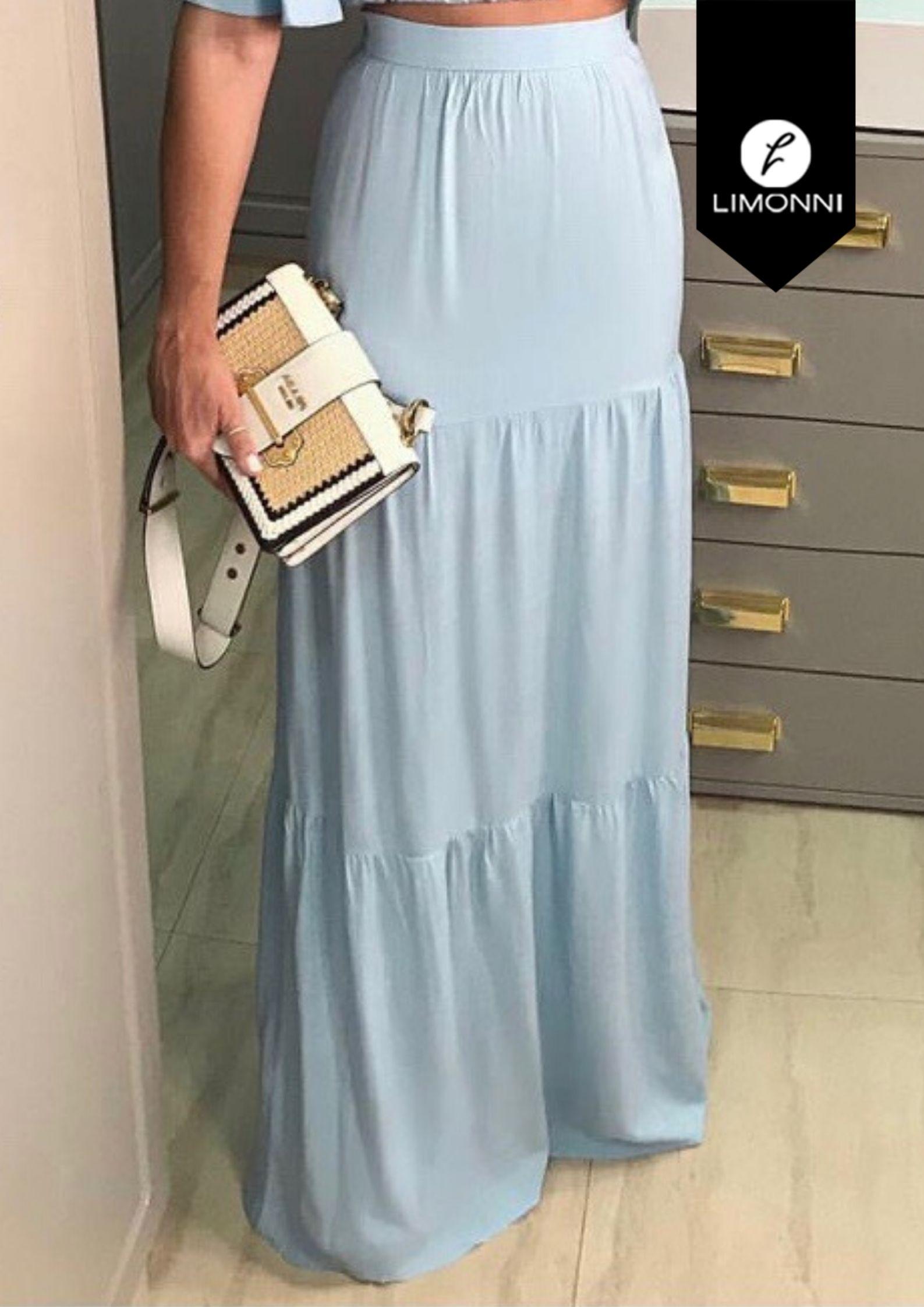 Faldas para mujer Limonni Visionary LI3077 Largos elegantes