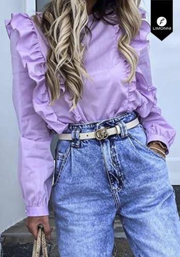 Blusas para mujer Limonni Visionary LI3084 Casuales