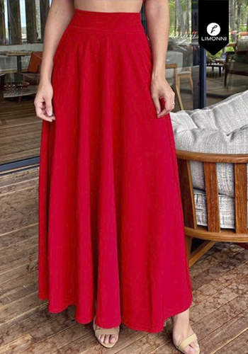 Faldas para mujer Limonni Visionary LI3104 Largos elegantes