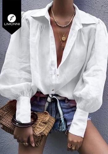 Blusas para mujer Limonni Visionary LI3120 Camiseras