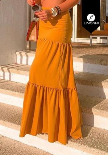 Faldas para mujer Limonni Visionary LI3135 Largos elegantes