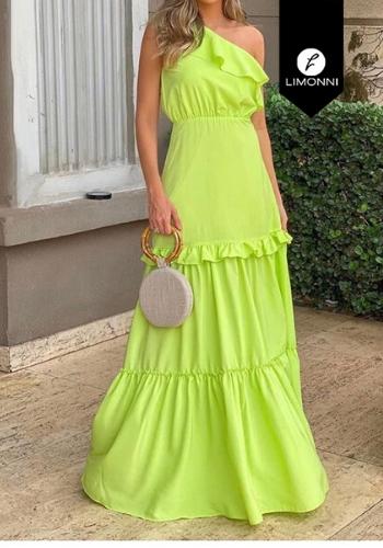 Vestidos para mujer Limonni Visionary LI3142 Maxidress