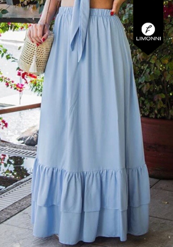 Faldas para mujer Limonni Visionary LI3147 Largos elegantes