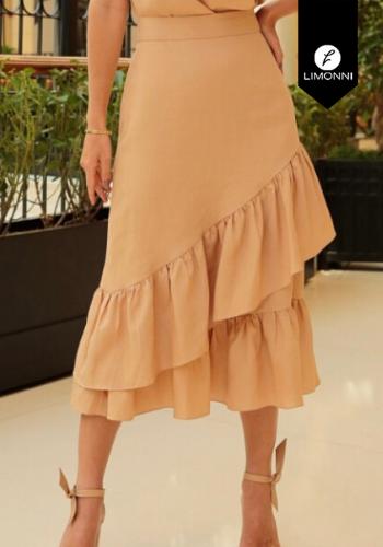 Faldas para mujer Limonni Visionary LI3148 Largos elegantes