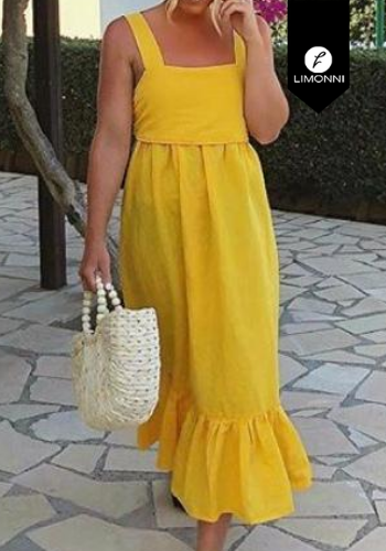 Vestidos para mujer Limonni Visionary LI3187 Maxidress