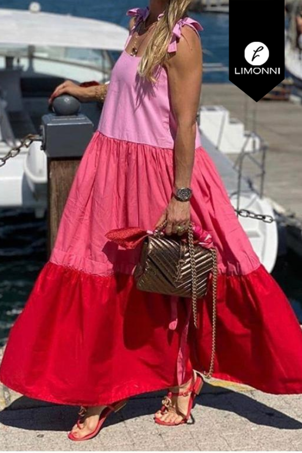 Vestidos para mujer Limonni Visionary LI3293 Maxidress