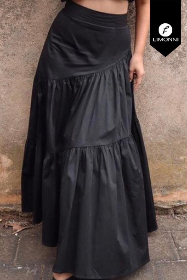 Faldas para mujer Limonni Mailía LI3374 Largos elegantes