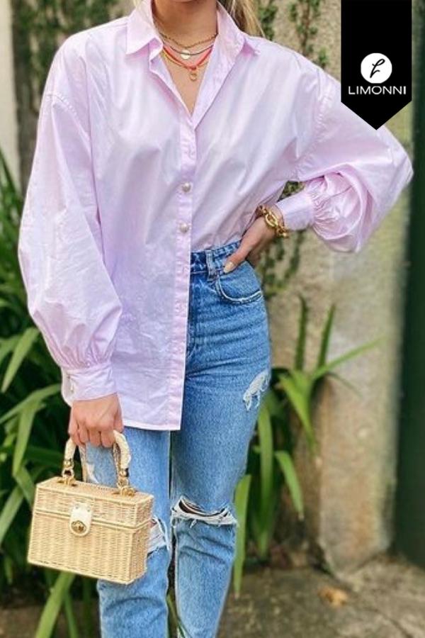 Blusas para mujer Limonni Mailía LI3384 Camiseras