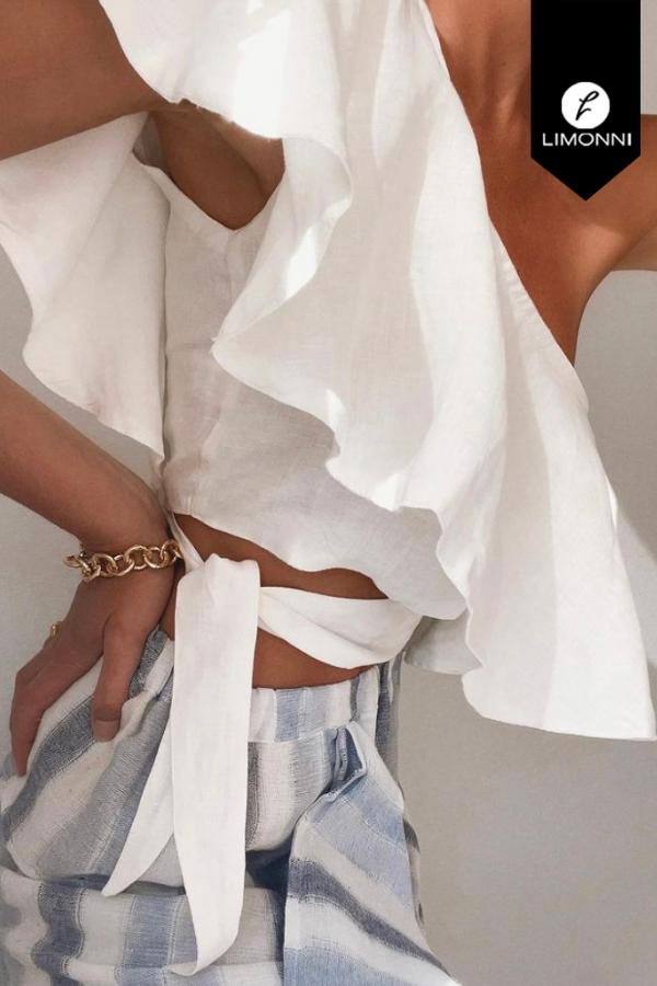 Blusas para mujer Limonni Mailía LI3400 Casuales