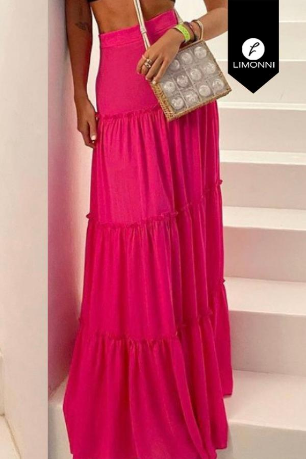 Faldas para mujer Limonni Mailía LI3401 Largos elegantes