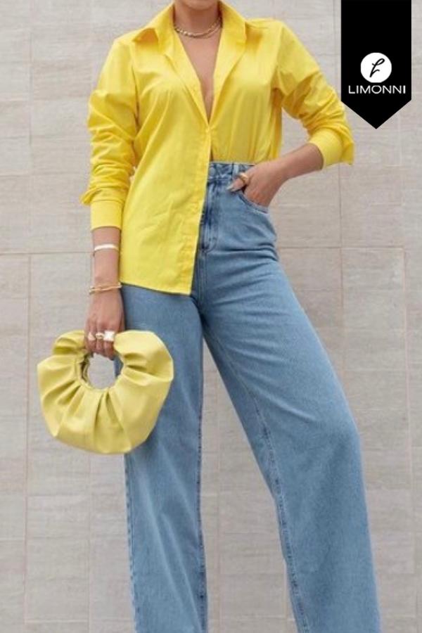 Blusas para mujer Limonni Mailía LI3411 Camiseras