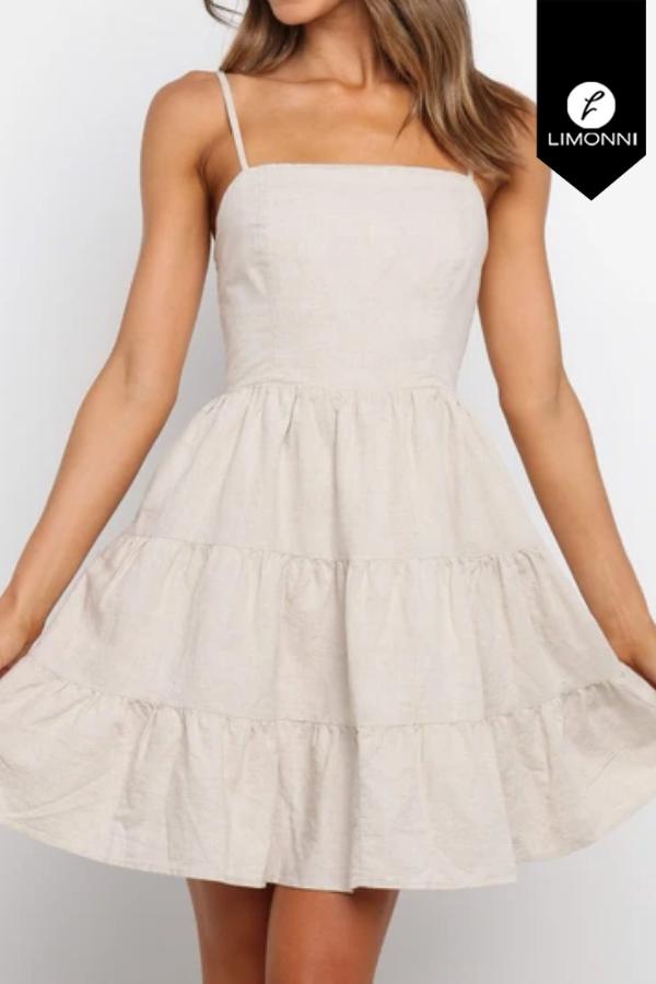 Vestidos para mujer Limonni Mailía LI3417 Cortos Casuales