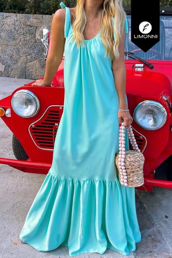 Vestidos para mujer Limonni Mailía LI3422 Maxidress