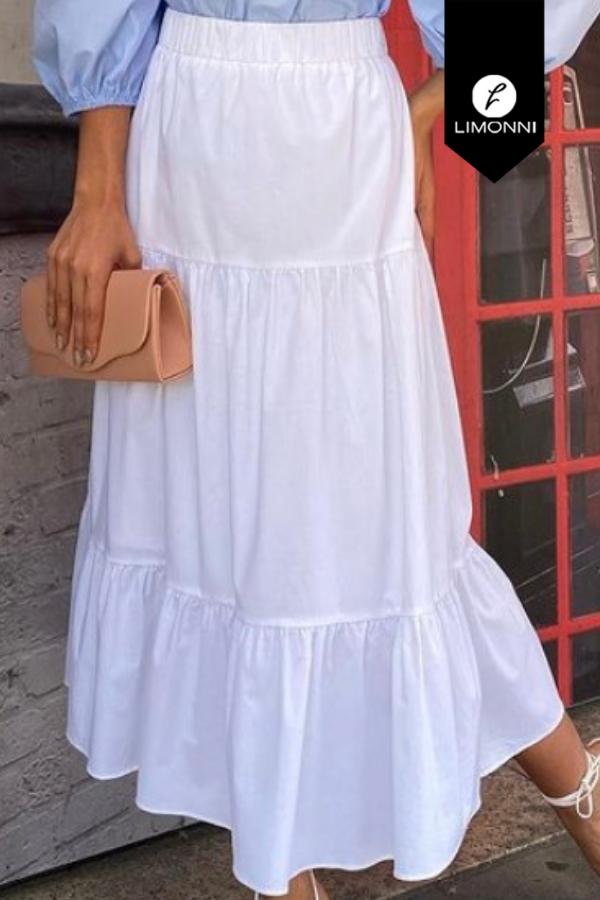 Faldas para mujer Limonni Mailía LI3445 Largos elegantes