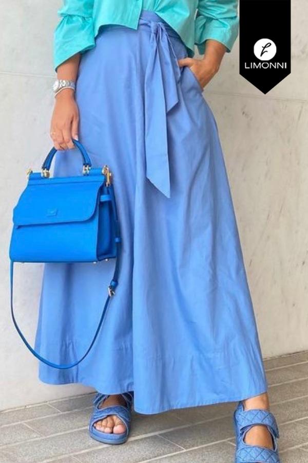 Faldas para mujer Limonni Mailía LI3446 Largos elegantes