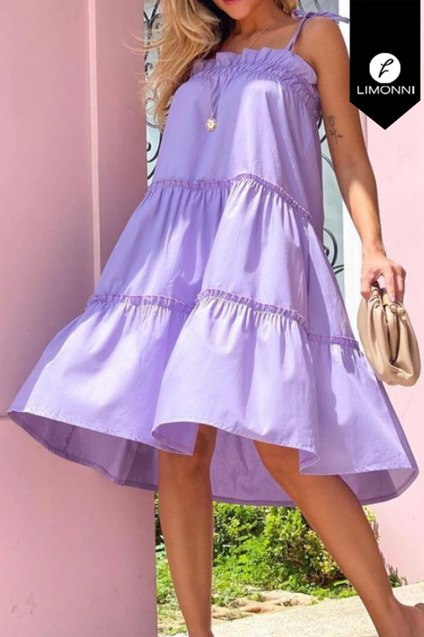Vestidos para mujer Limonni Mailía LI3447 Cortos Casuales