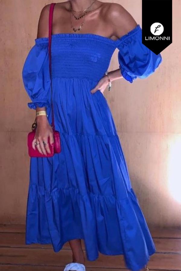 Vestidos para mujer Limonni Mailía LI3453 Maxidress