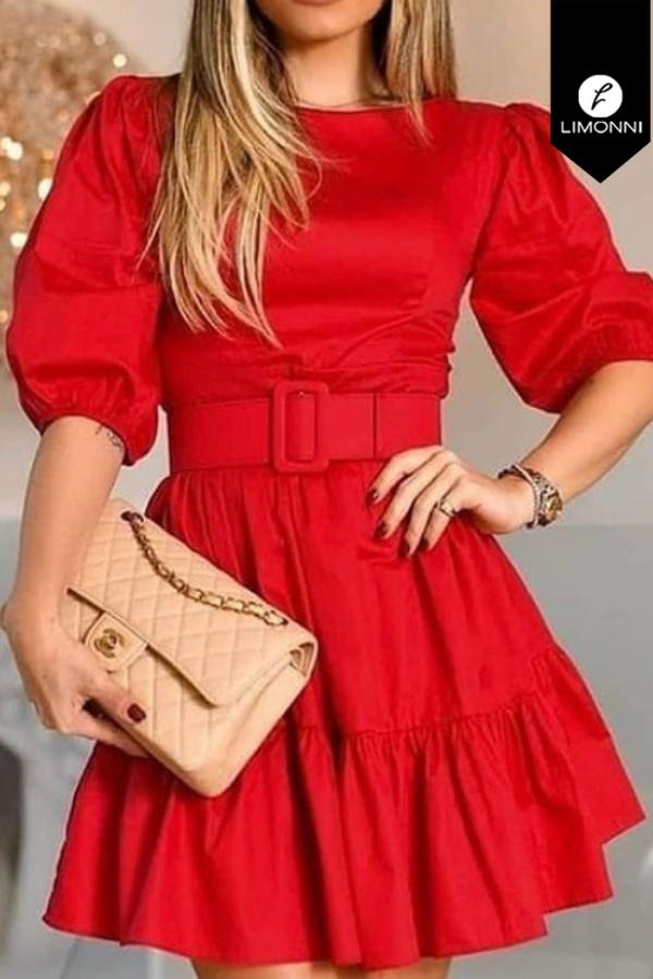 Vestidos para mujer Limonni Mailía LI3456 Cortos Casuales